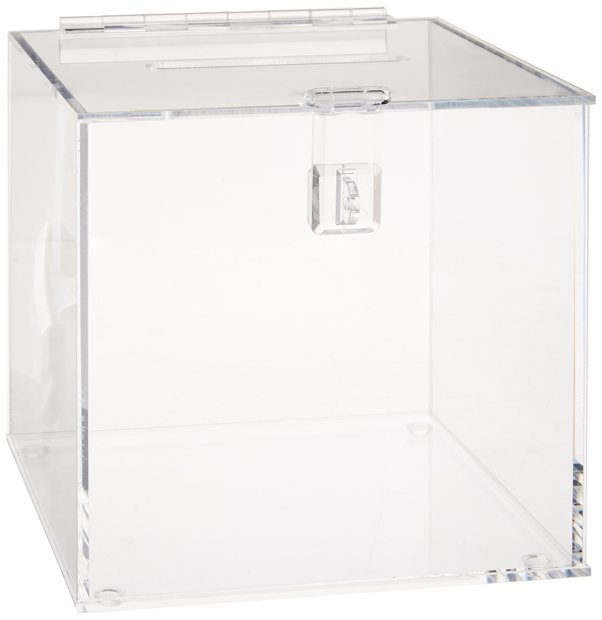8-3//4 Width x 13-1//4 Height x 8-3//4 Depth 8-3//4 Width x 13-1//4 Height x 8-3//4 Depth IBI Scientific WH-80 Beta-Gard Acrylic 1Gallon Jug Waste Container with Hinged Lid