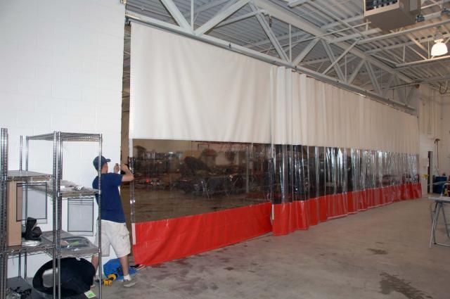 Garage Divider Curtains Insulated Garage Divider Curtains
