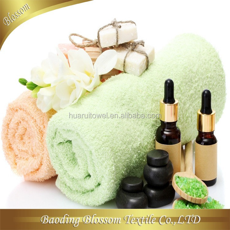 Manufacturer of Cotton Bath Towel HRM Shower SPA Terry Towel Set Hotel Towel Textile