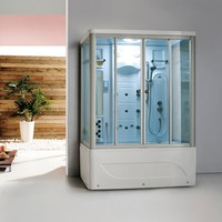 foshan factory cheap price relax complete shower steam rooms