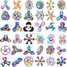 hot selling high quality hand toys many shaped and colors metal wind finger spinners