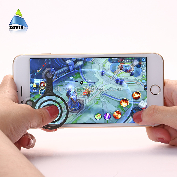 Universal wireless controllers mini mobile phone game joystick joypad for smartphone