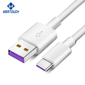 SuperCharge USB C Cable 5A for HuaWei Mate 9 Original Mate 9 Pro Cables Type A to Type C USB Data Super Quick Charge Cable
