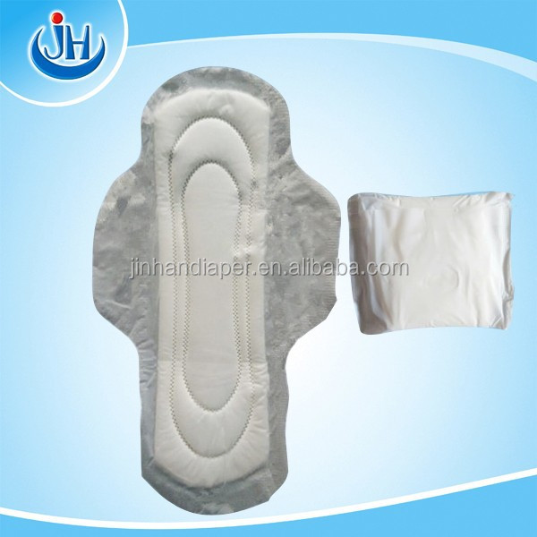 pure cotton sanitary pad lady sanitary towels 280mm with wide wings for night use/sanitary pads