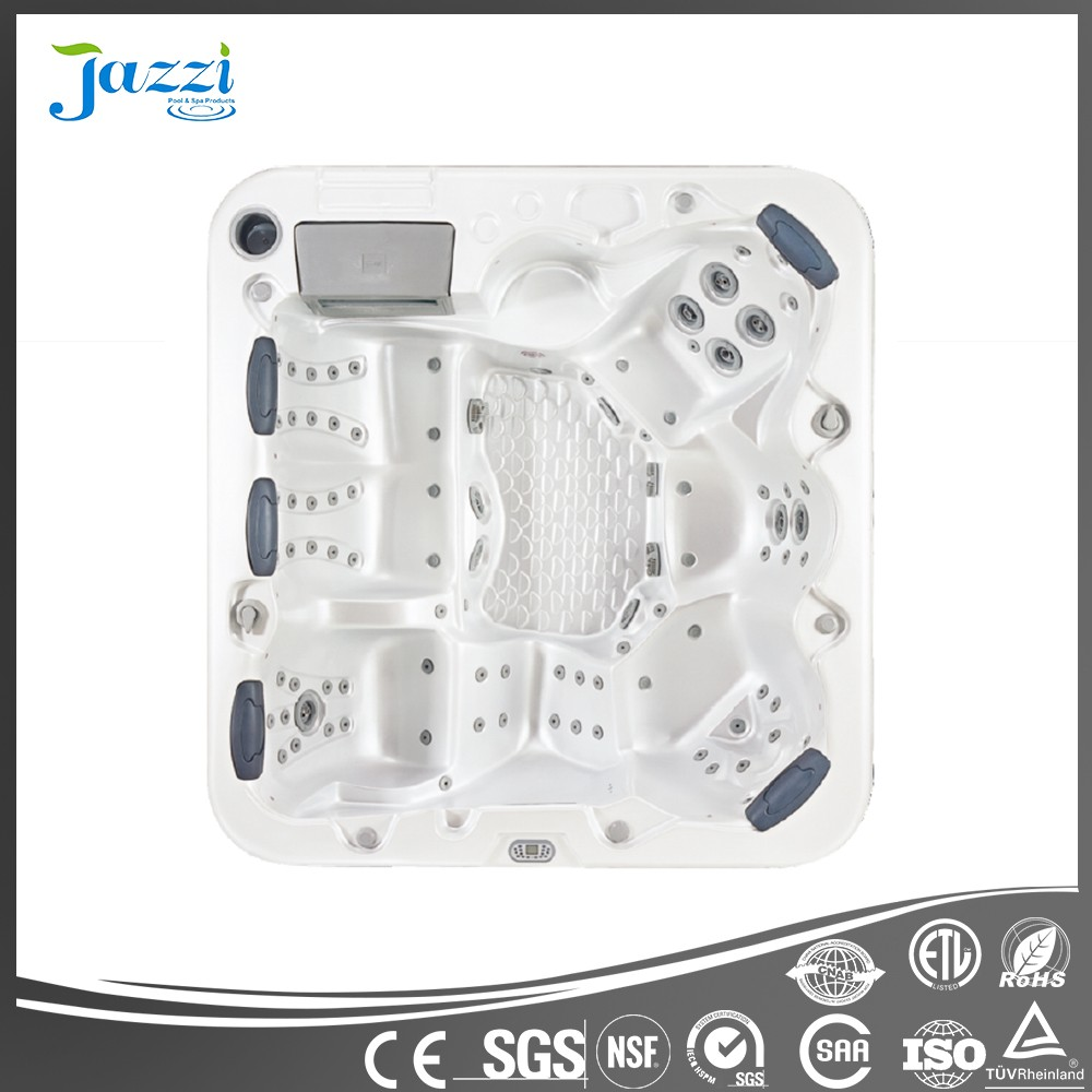 Jazzi European new design Balboa hot tub Aristech acrylic massage outdoor spa for 6 persons SKT338V