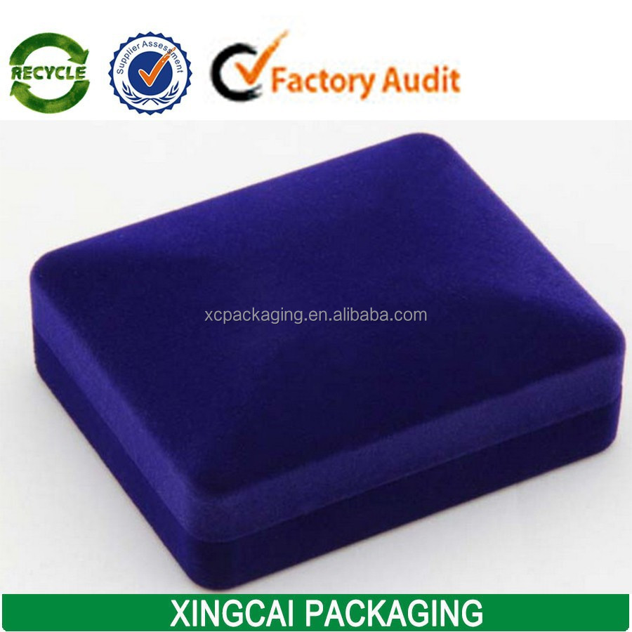 wholesale velvet cufflink box storage packaging