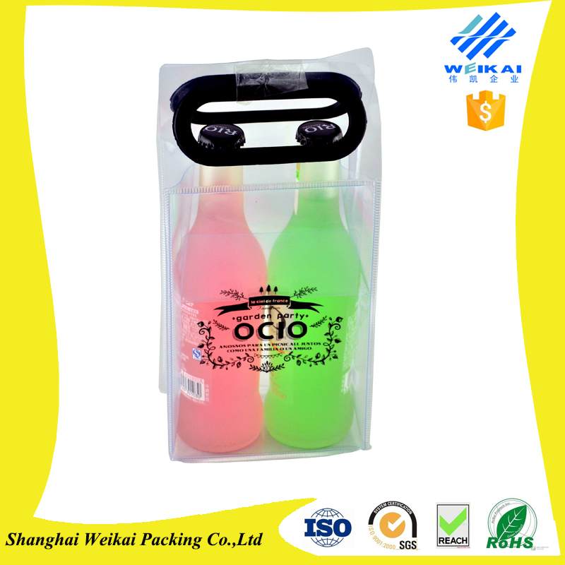 PVC Plastic Wine Cooler Ice Bag