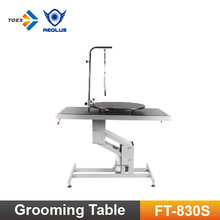 FT-830S/FT-830L Professionale Rotonda e Rotante Pet Grooming Table <span class=keywords><strong>Top</strong></span> Dog Grooming Products