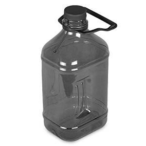 1b57c15086 Get Quotations · 1/2 Gallon (64 oz.) Polycarbonate Plastic Water Bottle w/  Handle
