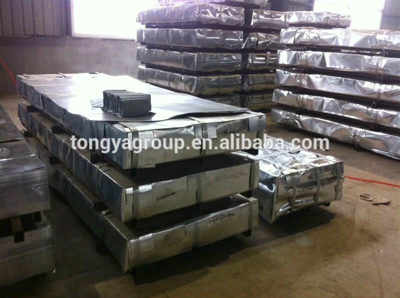 Corrugated Galvanized steel metal roofing sheets