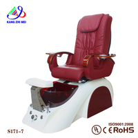 2016 best price human touch pedicure machine spa chair(S171-7)