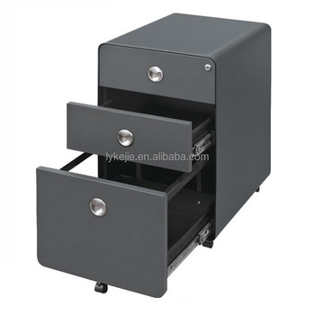 Office Filing Cabinet Mobile Metal Drawer Cabinet Files Storage Steel Wheel  Drawer Box Dental File Chest
