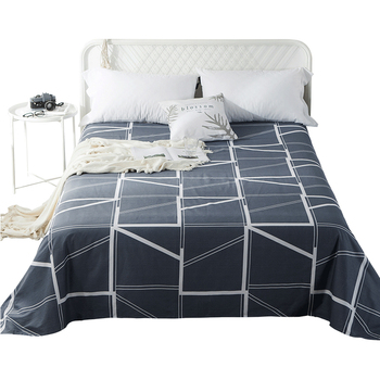 Modern Printed 100 Cotton Bed Sheet Queen Size Twill Bed Sheet