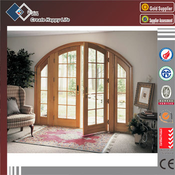 Graceful Aluminum Material Arched Lowes French Doors Exterior Buy