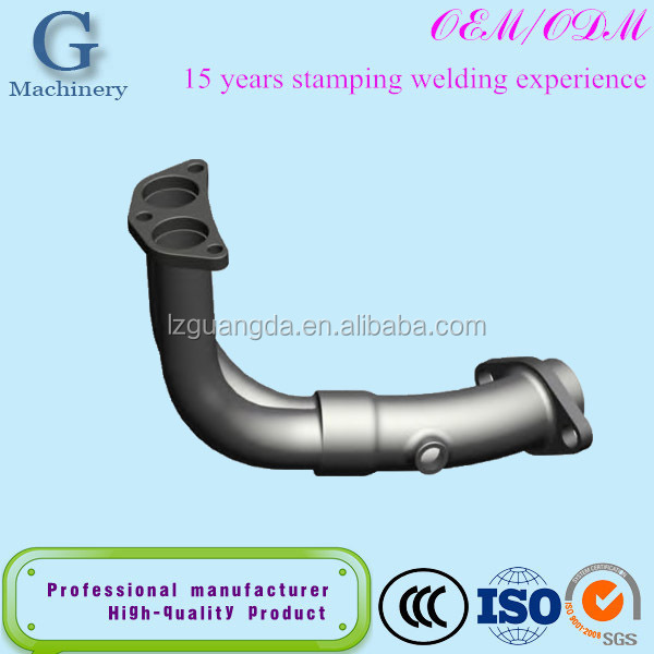custom car,auto,motorcycle exhaust pipe stamping oem parts