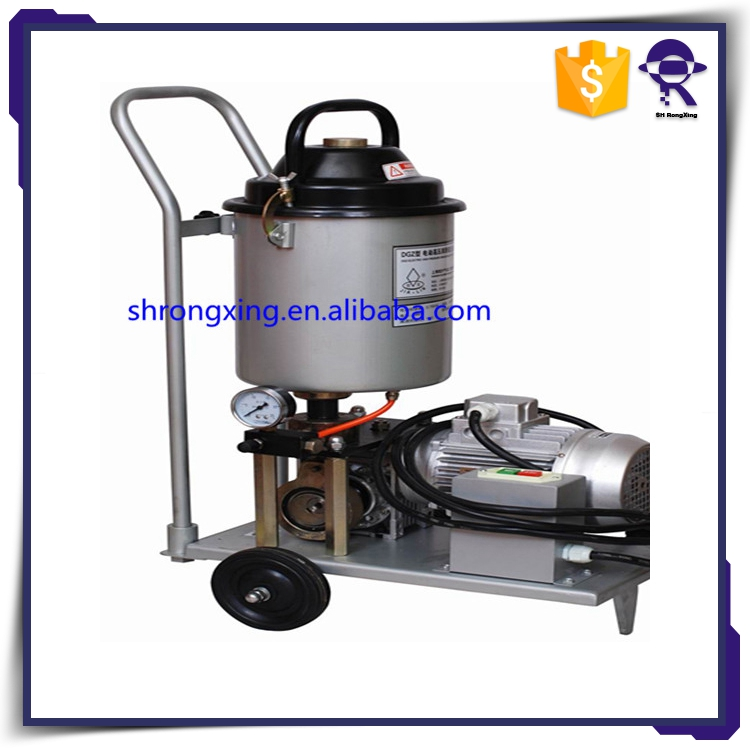 China gold manufacturer best-selling portable electrical grease adding pump