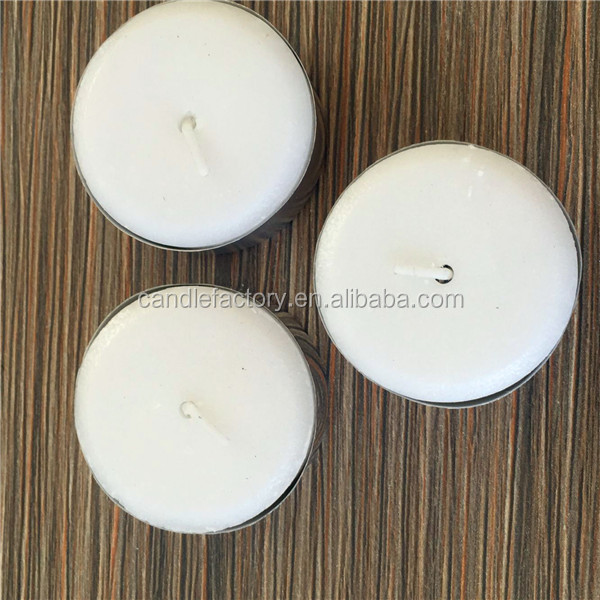 Standard small household white round candle