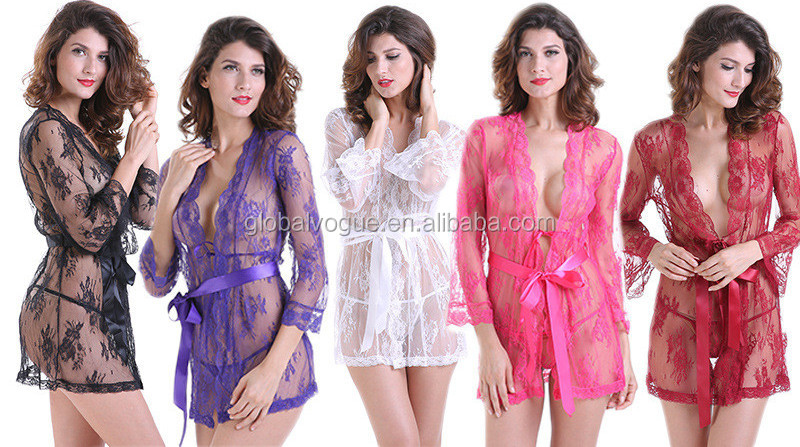 Women Lingerie One Piece Fishnet Teddy Lace Cups Bodysuit Front Open Mesh Babydoll