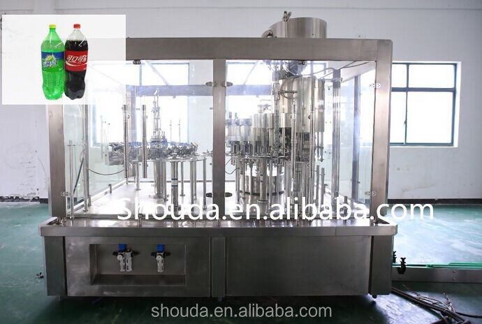 china Golden manufacturer bottle Carbonated water filling production <strong>line</strong>