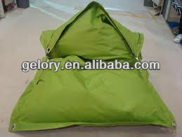 waterproof foldable bean bag for suntans on outdoor beach or watch TV in room from yiwu China