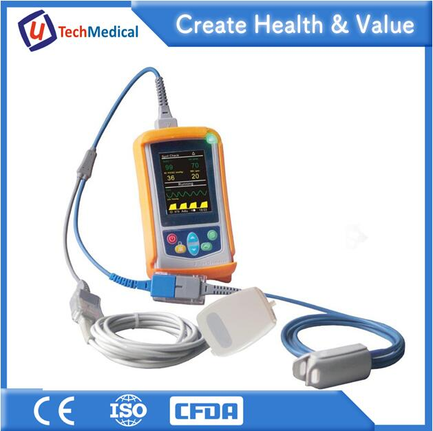 China Medical Clinic Vital Signs Monitor Portable Ambulance Multi-parameter Patient Monitor