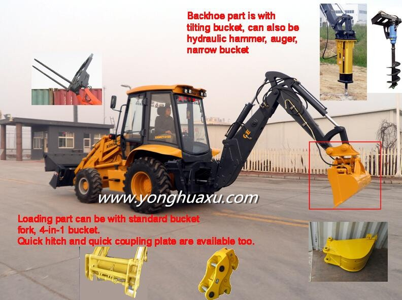 China Agricalchar Machine Supplier Used Mini Tractor Backhoe ...
