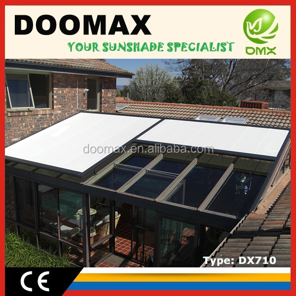 #DX710 Retractable Roof Sunshade Awnings