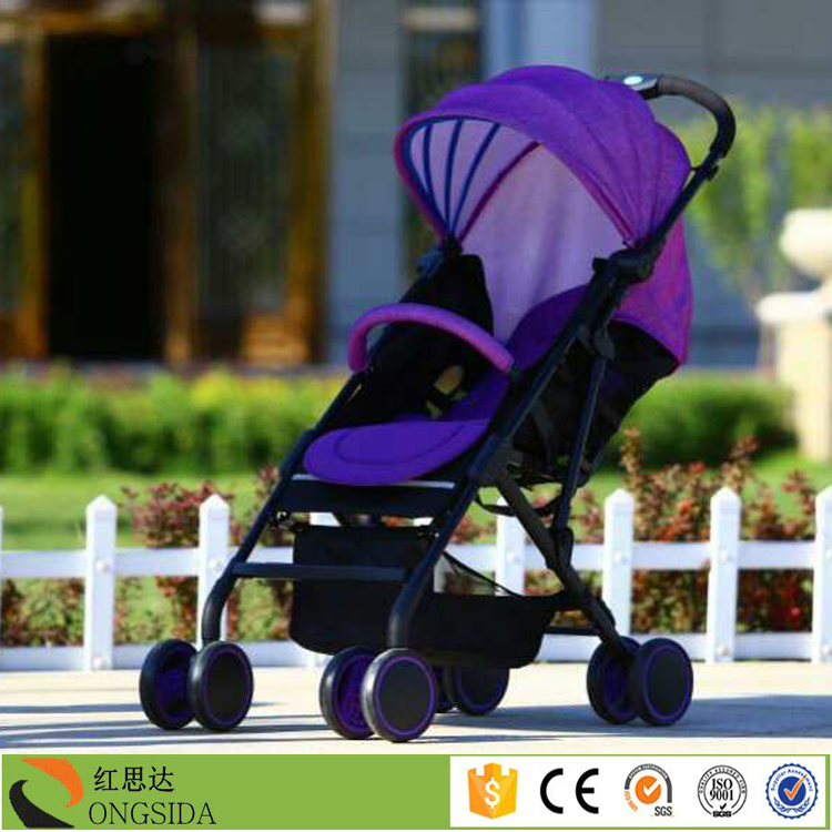 Foldable Steel Frame Baby Carriage Car Seat Travel System Baby ...