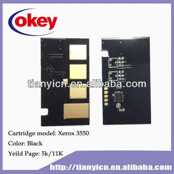 for Xerox 3550 laser toner chip