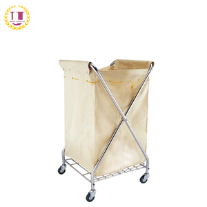 Metal X-Frame Folding Laundry Carts for Sale