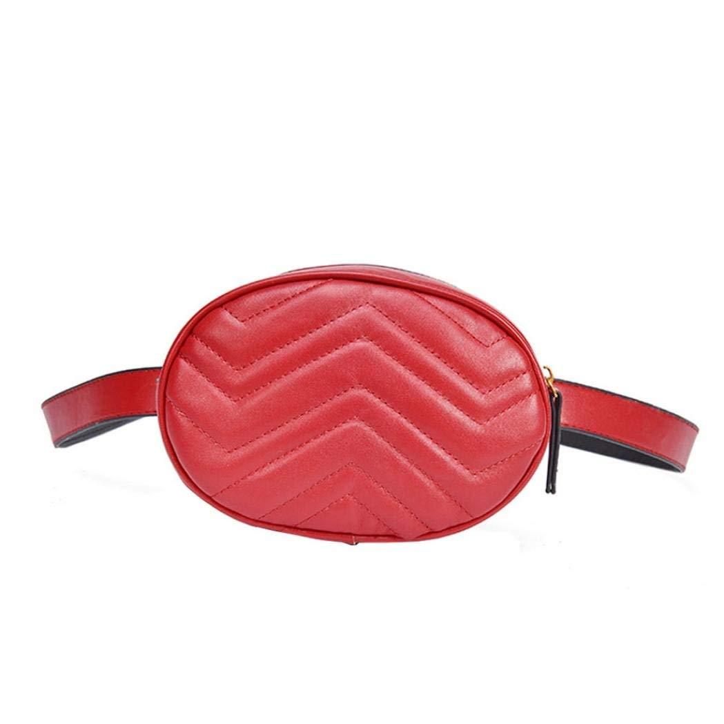 Clearance Deals Women Shoulder Bag Chest Bag, TOOPOOT Lady Small Zip Pure Color Handbag Messenger Bag
