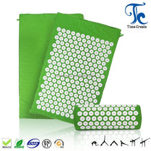 2017 hot sale massage acupressure mat and pillow set,acupressure mat and pillow combo