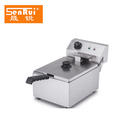 Commercial kfc chicken frying machine stainless steel removable electric non-stick deep fryers