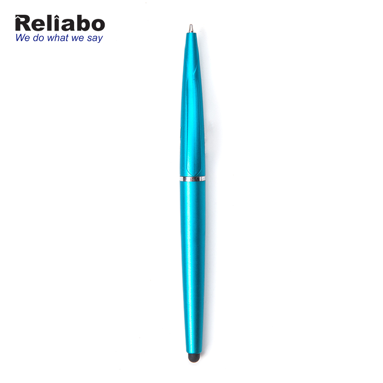 Reliabo Office Promotion New Design Double Used Screen Touch Plastic Ball Pen