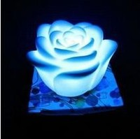 7 Color LED Romantic Simulation Rose Flower Night Light Rose Branches Lamp Valentine's Day Gift