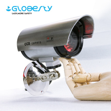 Small Dummy Fake Bullet Home Outdoor CCTV Security Camera with Waterproof Housing