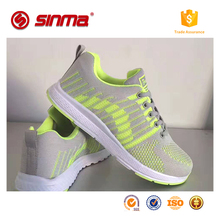 hot sale women and men EVA outsole sport shoes wholesale custom logo mesh sport shoes high top sneakers