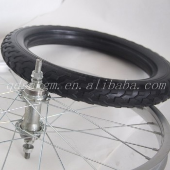 Bicycle Airless Tire Garden Transport Cart Wheels