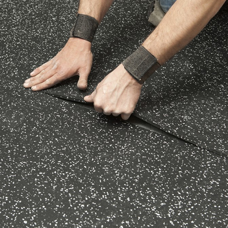 Equipment Mats Noise Reduction Rubber Gym Flooring