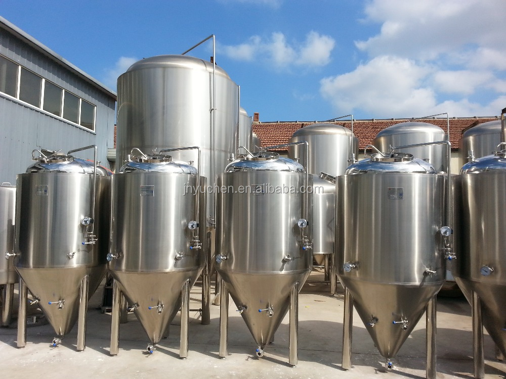 15000L Stainless steel fermentation tanks, beer fermenter, cooling jackets tank