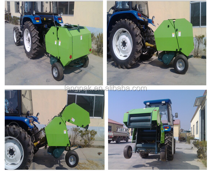 China Factory Weifang Supplier Mini Round Hay Baler/mini Hay Baler ...