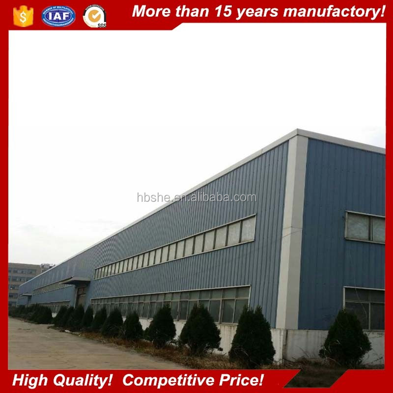 China manufactured pre engineering steel structure building modular warehouse buildings