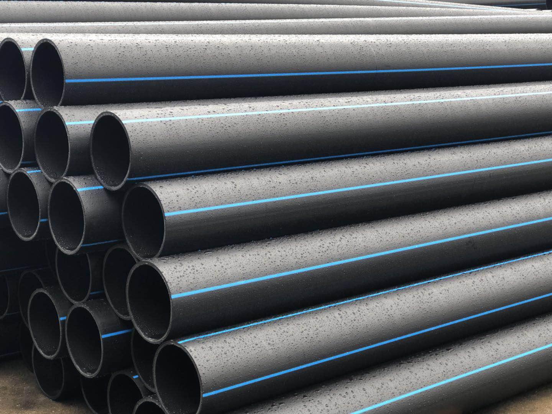 מפעל 16-1000mm PN8- PN16 PE צינור אספקת מים ניקוז פלסטיק צינור HDPE צינור