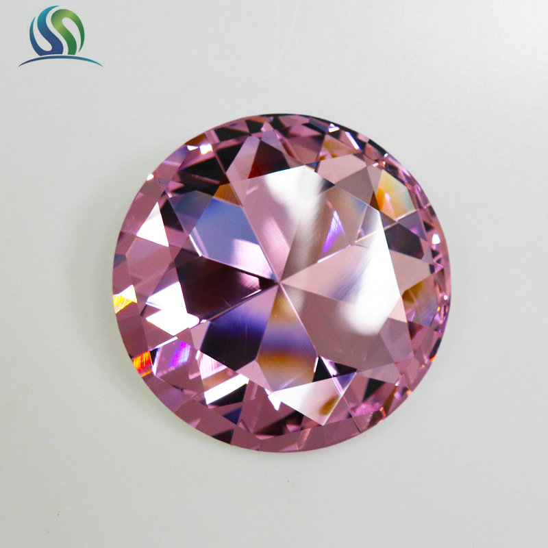 Artificial K9 Crystal Gem Diamond Jewelry Decoration Gift With Different Size Colors For Option