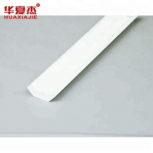 Hot wholesale white heat-resistant interior decoration household plastic pvc window ceiling exterior wall molding