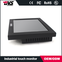 8 inch lcd industrial monitor with resistance touch screen
