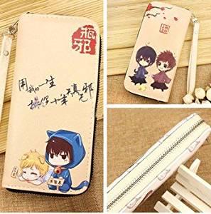 Wallet Men Women Cool PU Leather Money Fold Anime Purse Cosplay Long Checkbook Kids Little sister Sword Art Online Anime