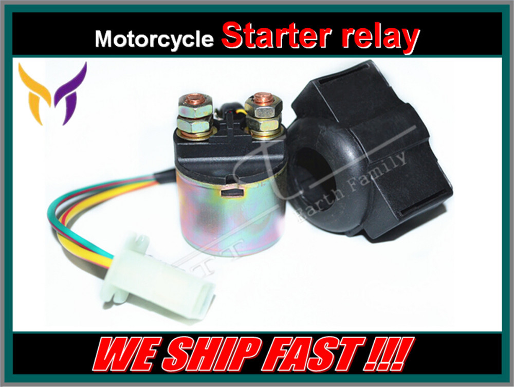 Dirt Bike Atv Motorcycle Electrical Parts Starter Solenoid Relay Lgnition  Key Switch For Honda 300 Trx300 Fourtrax … #3908-Lu