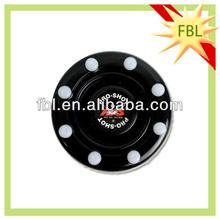 High quality rubber ice hockey puck