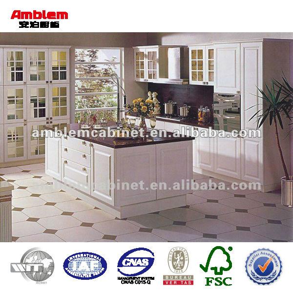 pvc küchenschrank glastüren-möbel der küche-produkt id:560071497